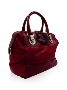 Gucci Satchel in Dark Red