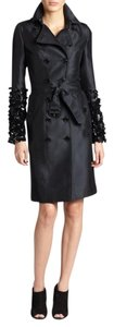 Burberry Sequin Embellished Silk Trench Coat