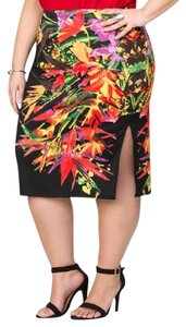 Ashley Stewart Skirt MULTI COLOR