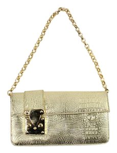 YF brand Quilted Gold Satchel