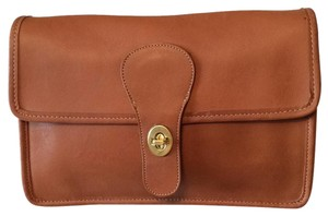 Coach British Tan Clutch