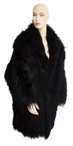 Adrienne Landau High Fashion Chubby Fur Coat