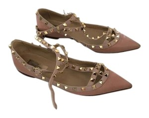 Valentino Light Pink Flats