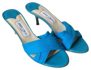 Jimmy Choo Turquoise Sandals