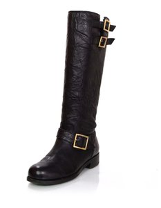 Jimmy Choo Fur Tall Boots