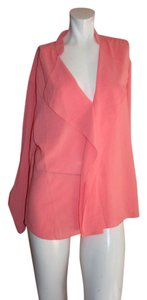 Alberto Makali 100% Polyester Long Sleeve Top PINK
