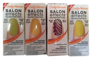 Sally Hansen Salon Effects Sally Hansen Real Nail Polish Strips (4) Pack