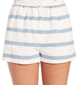 Mara Hoffman Mini/Short Shorts Blue, White
