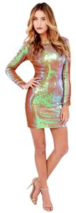Dress the Population Sequin Mini Fashion Dress
