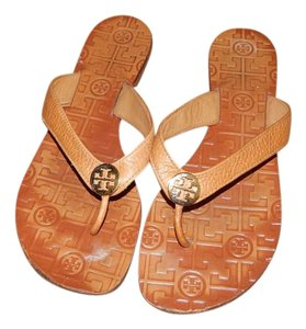 Tory Burch Women Thora 9 M British Tan - Saddle Sandals