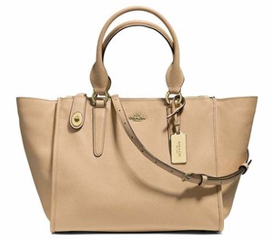 Coach Crosby Carryall 33995 Satchel in Nude
