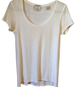 Maison Scotch T Shirt Yellow