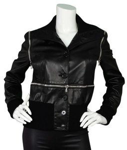 Dolce&Gabbana Leather Leather Leather Jacket