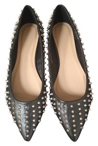 ASOS Studded Spike Black Flats
