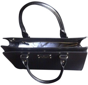 Kate Spade Very Stylish Leather Satchel in Black
