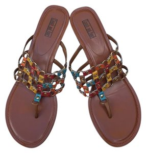Coach and Four Tan Sandals