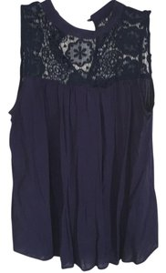 Xhilaration Top Navy blue