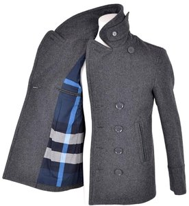 Burberry Men's Grey Jacket