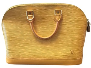 Louis Vuitton Satchel in Yellow