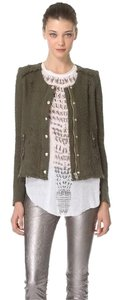 IRO Rag & Bone Isabel Marant Tory Burch Dvf Rebecca Taylor Green Jacket