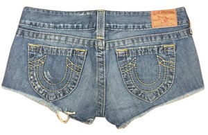 True Religion Cutoff Short Cut Off Shorts Denim