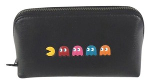 Coach Coach F56712 Limited Edition Pac Man Leather Cosmetic Case Bag