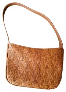Fossil Straw Woven Wicker Summer Shoulder Bag