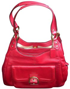 Coach Stylish Leather Hobo Bag