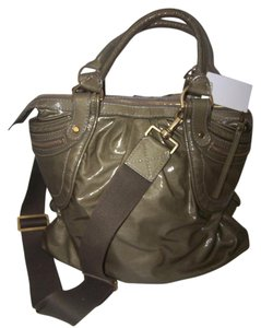 Stella McCartney Appaloosa Tote in Olive Green