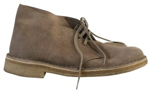 Clarks Desert Boot Suede Taupe Boots