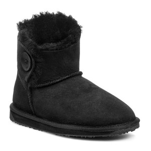 EMU Australia Handcrafted Water-resistant Black Boots