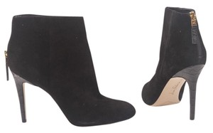 Sam Edelman Suede Leather Platform Black Boots