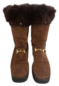 Gucci Winter Boot Boot Brown Boots