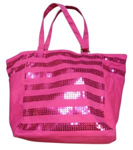 Victoria's Secret Sequin Tote in Pink