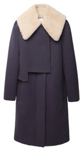 3.1 Phillip Lim Classic Fur Burberry Saks Coat