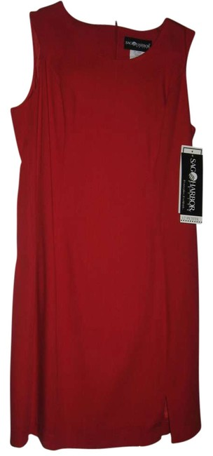 Preload https://item2.tradesy.com/images/sag-harbor-lined-machine-washable-dress-red-198596-0-0.jpg?width=400&height=650