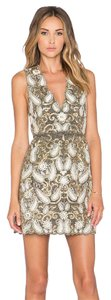 Alice + Olivia Embellished Dress