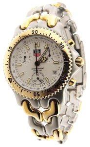 TAG Heuer Tag Heuer Professional 200m Chrono CG1120-O Two Tone 39mm Date Watch