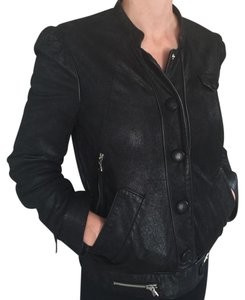 Marc by Marc Jacobs Leather Black Womens Leather Jacket