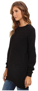 BCBGeneration Tunic Edgy Textured Rocker Sweater