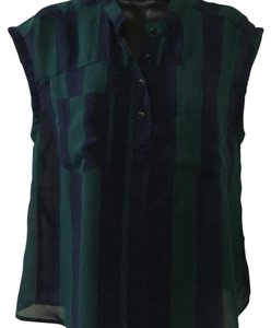 Other Top Black & Green