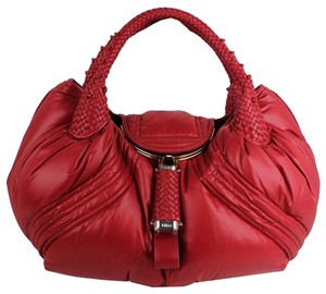 Fendi Moncler For Tote in red