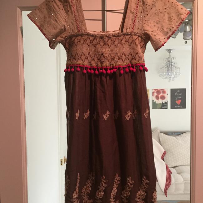 Free People short dress Multi colored Bohemian Brown on Tradesy Image 3