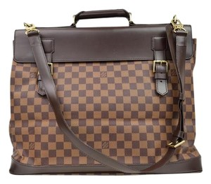 Louis Vuitton West End Damier Luggage Travel Damier Ebene Travel Bag