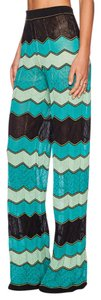 M Missoni Wide Leg Pants multicolor