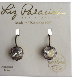 Liz Palacios New Liz Palacios Leverback Earrings w/ Swarovski Crystal