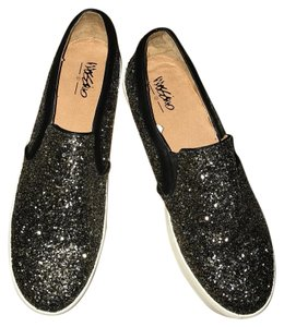 Mossimo Supply Co. Black/Silver Flats