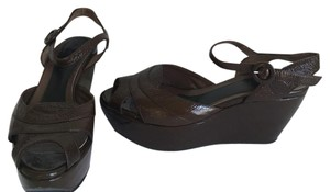 Marni Brown Wedges