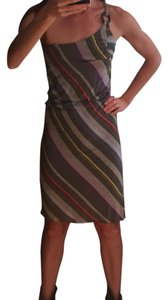 Ella Moss short dress Multi color One Shoulder Cotton on Tradesy