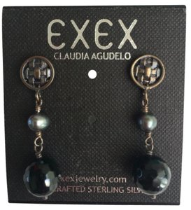 EXEX by claudia agudelo New EXEX Handcrafted Elegant earrings